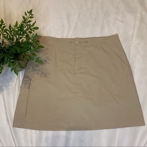 Patagonia Hiking Skort Shorts Skirt Size 10